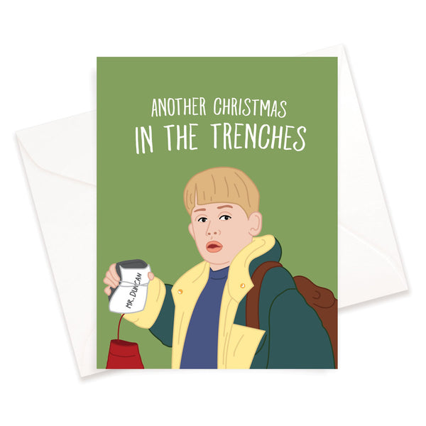 In The Trenches Christmas Card