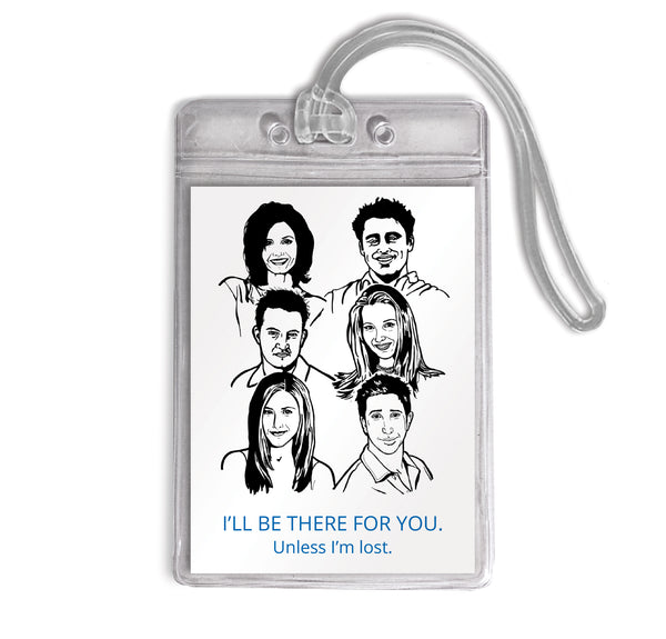 Luggage Tag - Friends
