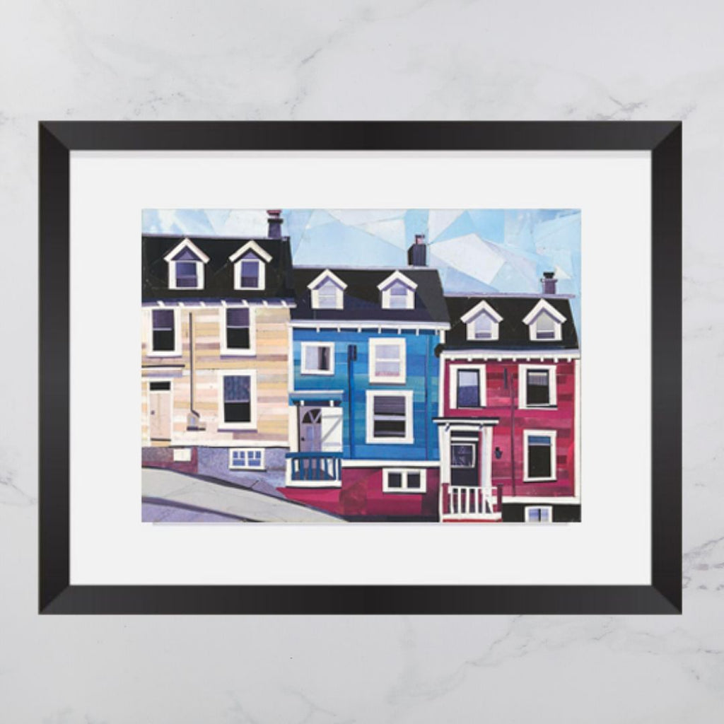 Maritime House Collage Print