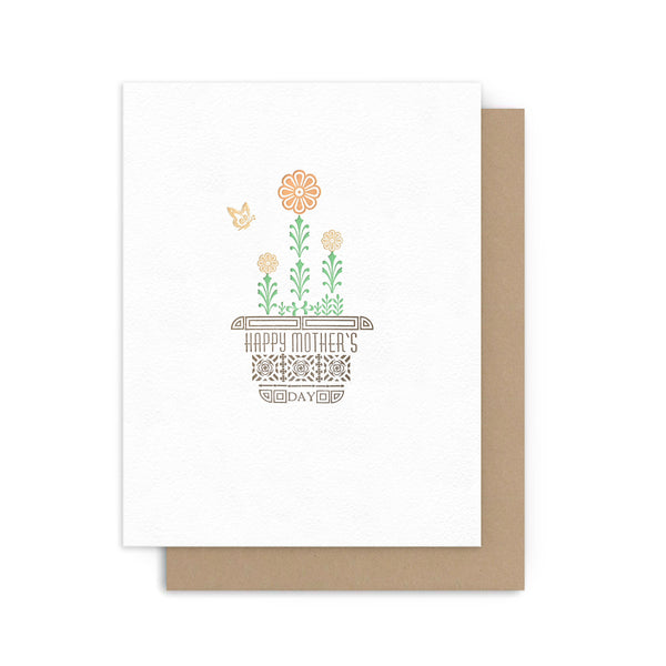 Mother's Day Flower Pot Card