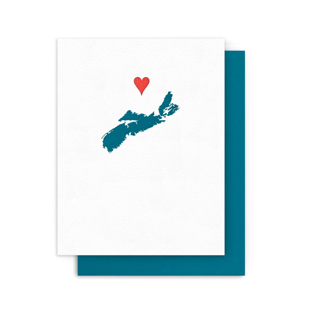 Sending Love Nova Scotia Card