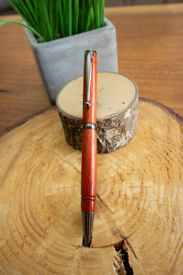 Hand Turned Pen - Padauck
