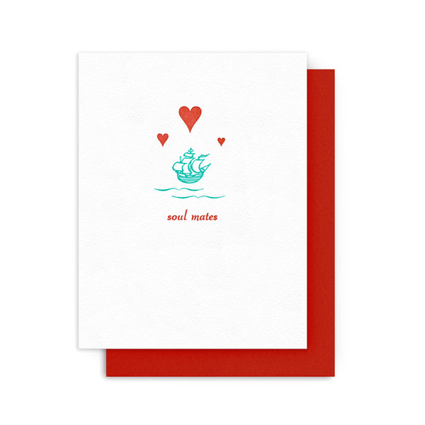 Soulmates Ship Card