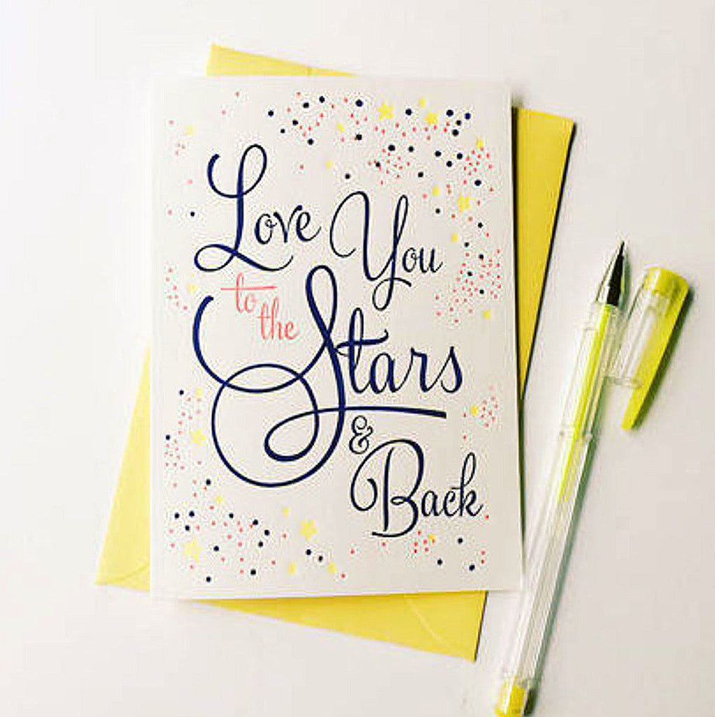 Stars & Back Love Card