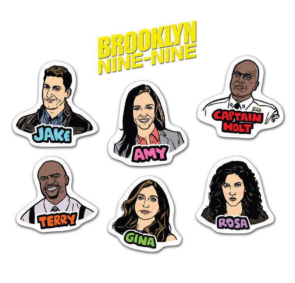 Brooklyn Nine-Nine Sticker Pack
