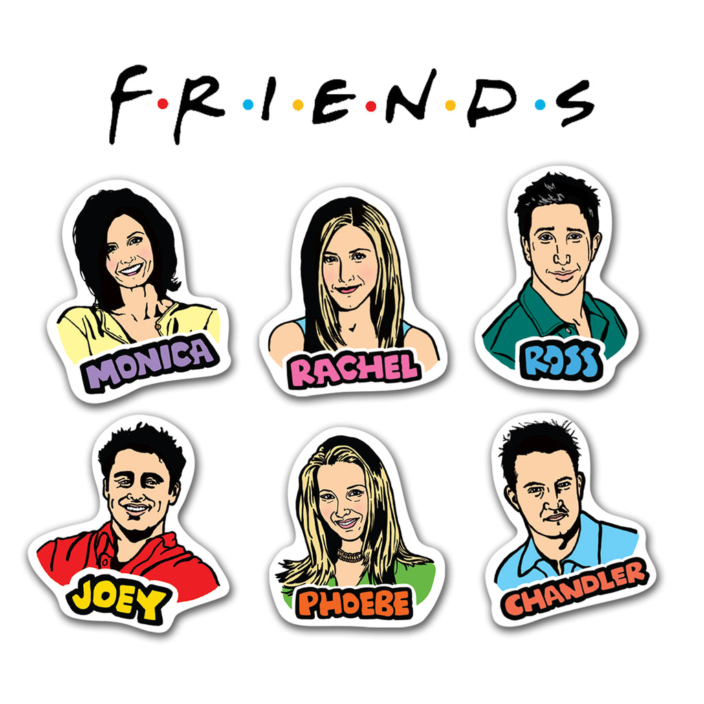 Friends Characters Sticker Pack