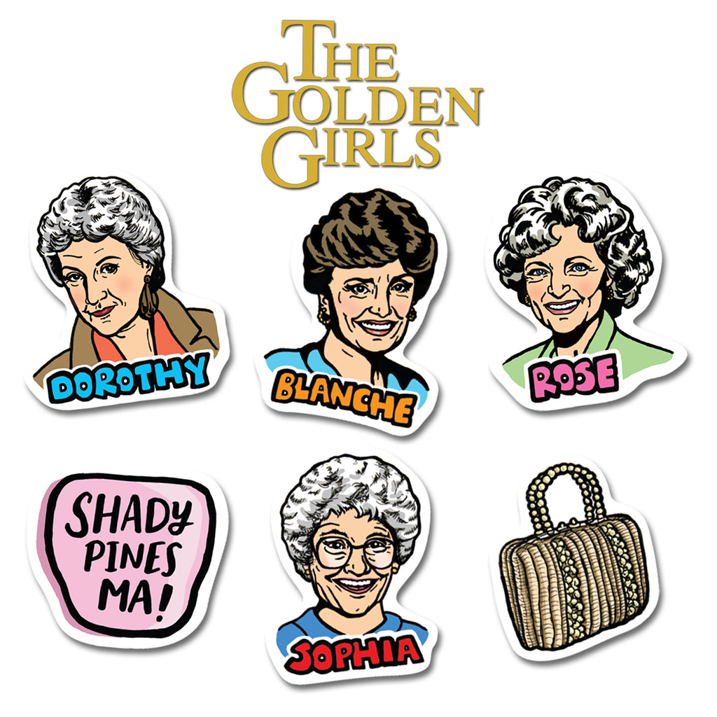Golden Girls Magnets (6)