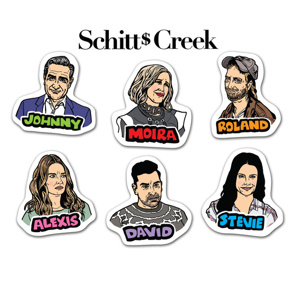 Schitt's Creek Magnets (6)