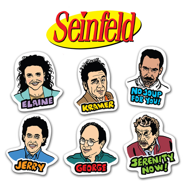 Seinfeld Characters Magnets (6)