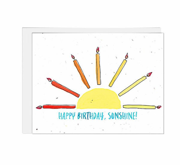 Sunshine Birthday Seed Card