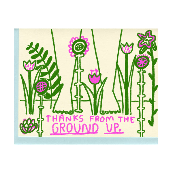 Ground Up Thanks Card