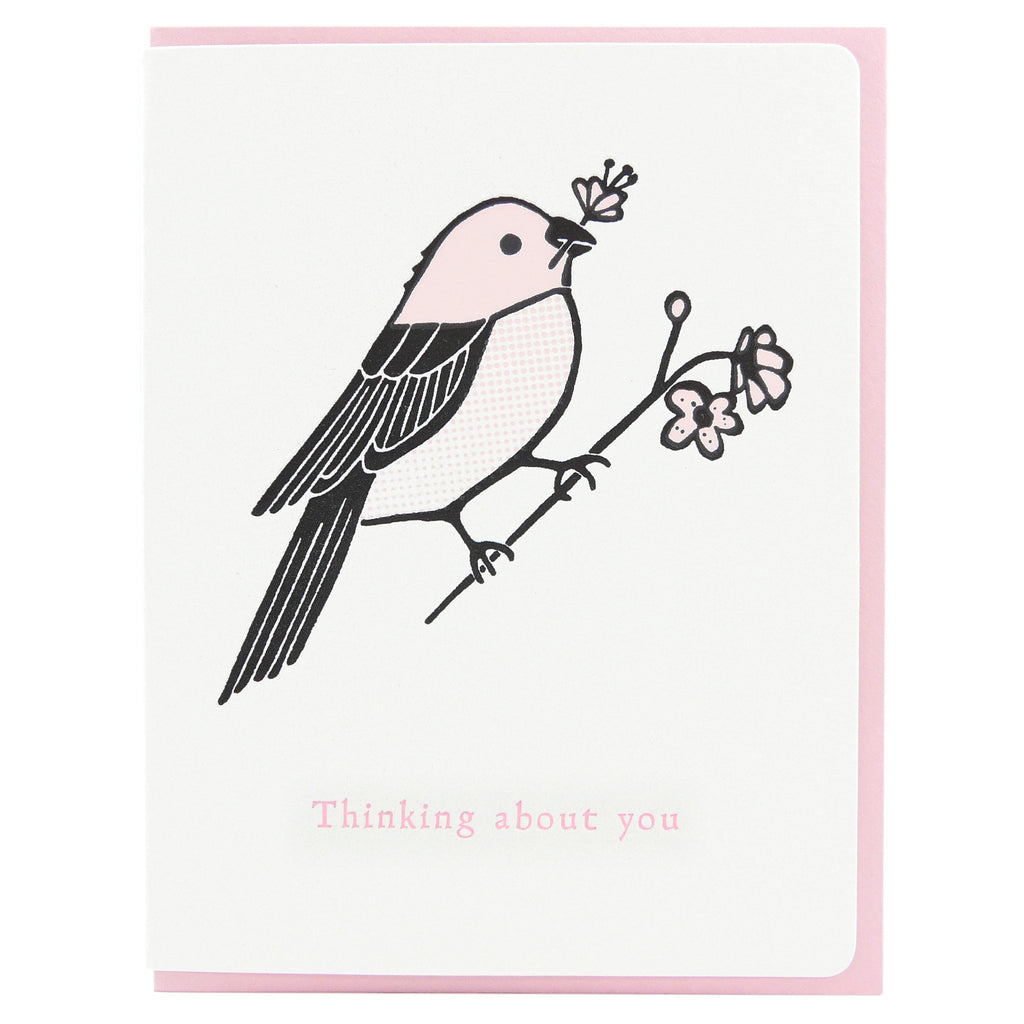 Thinking Of You Finch Card