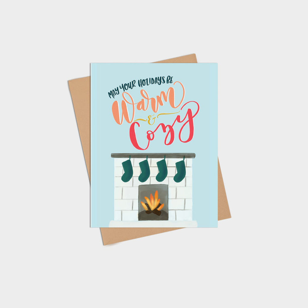Warm & Cozy Holiday Card