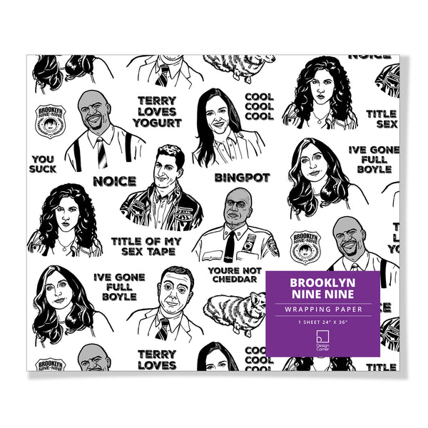 Brooklyn 99 Gift Wrap