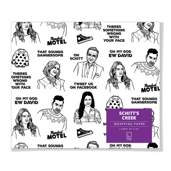 Schitt's Creek Gift Wrap