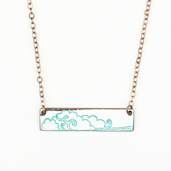 Cloud Bar Necklace