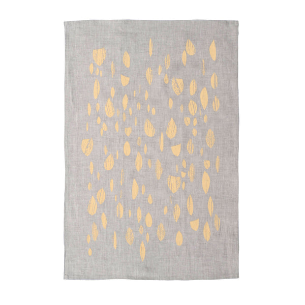 Apricot Drops Tea Towel