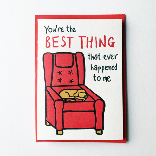 The Best Thing Card