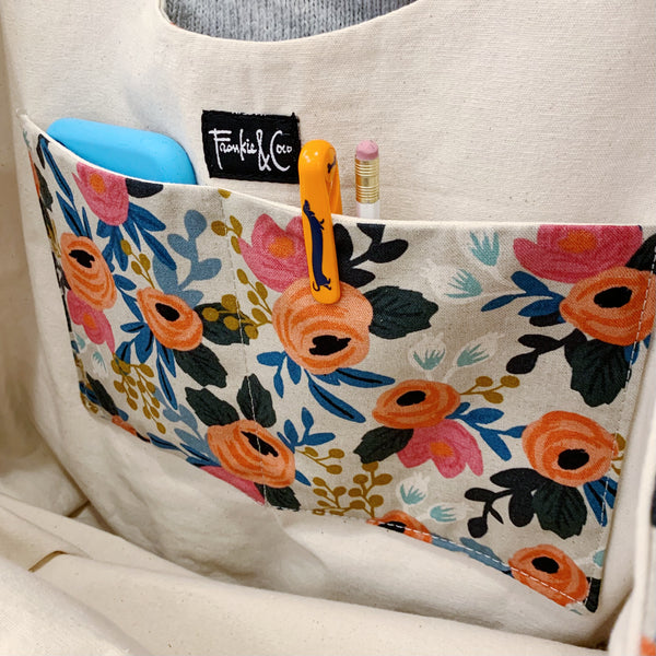 Convertible Tote - Bloom Floral