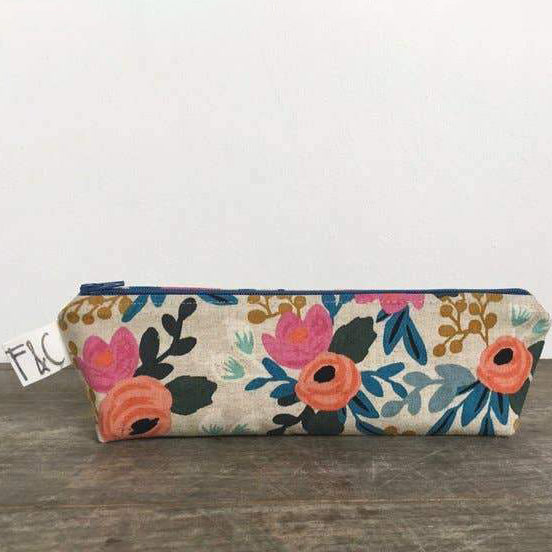 Pencil Case - Bloom Floral