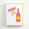 Thanks Bottle Card 5 Pack