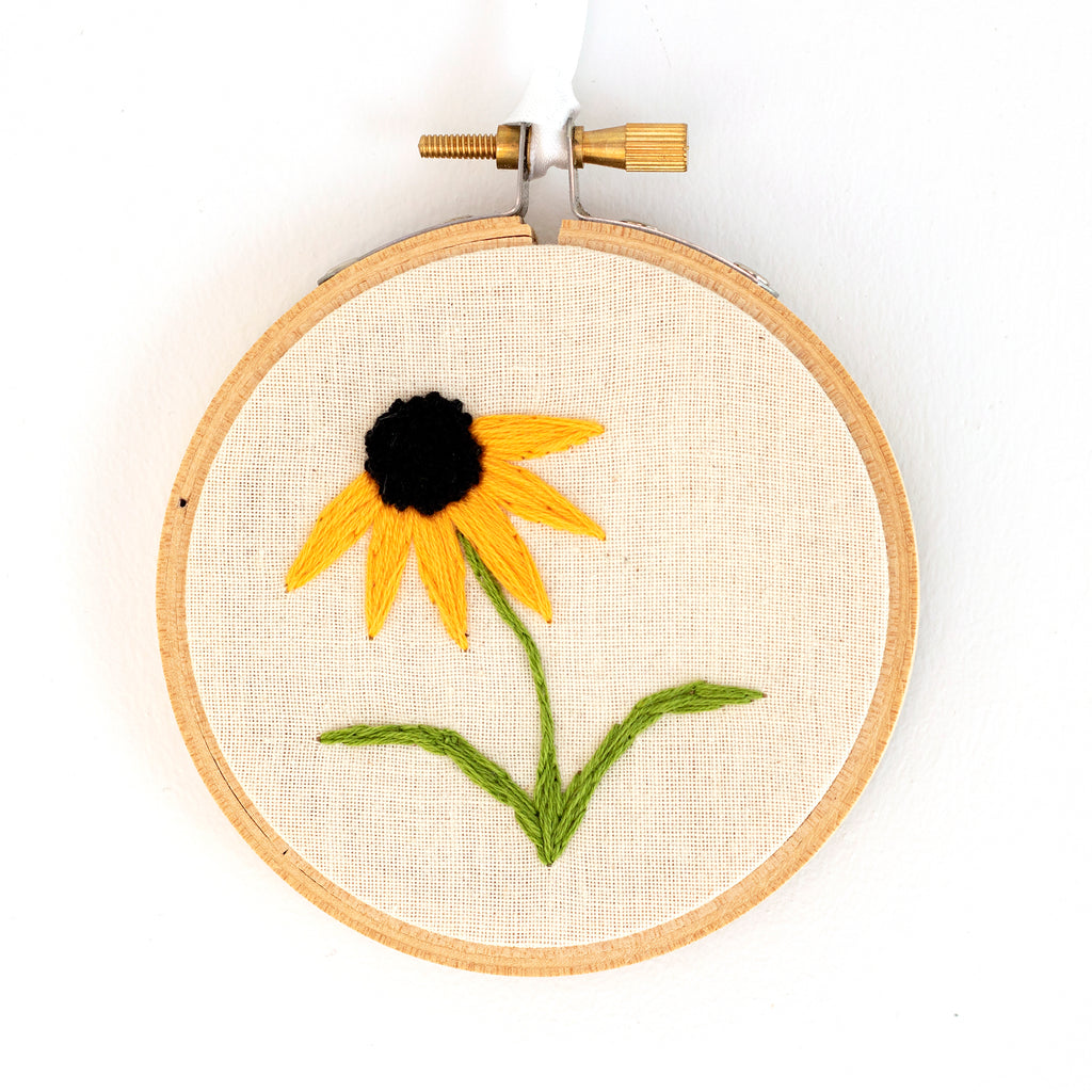 Brown-Eyed Susan Embroidery