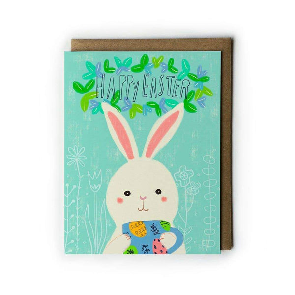 Bunny Mug Easter Card