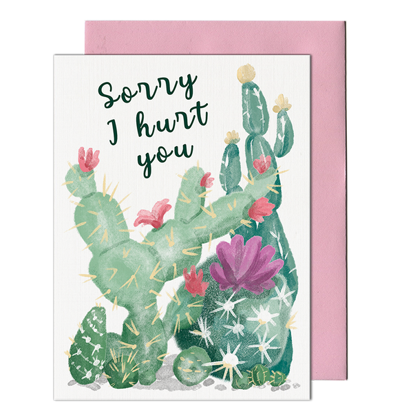 Sorry Cactus Card