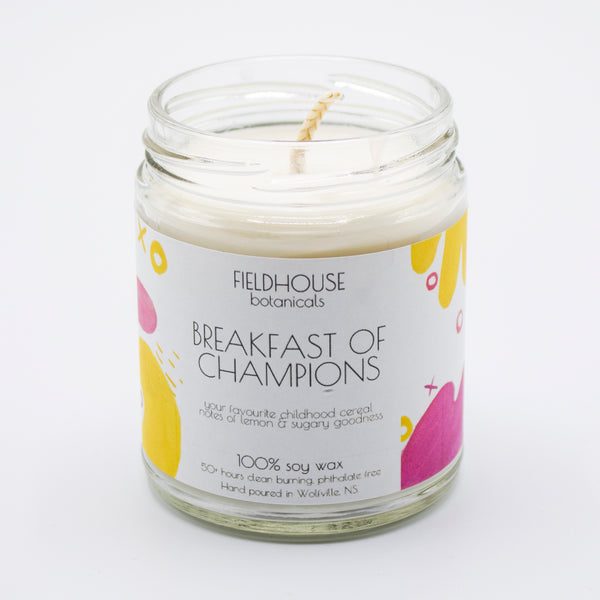 Breakfast of Champions 9oz Candle