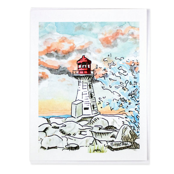 Peggy's Cove Bard Card