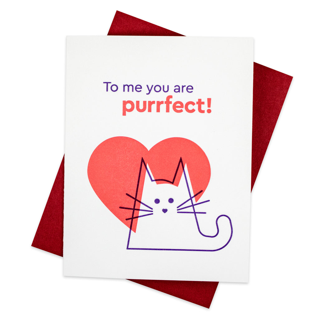 Purrfect Cat Card