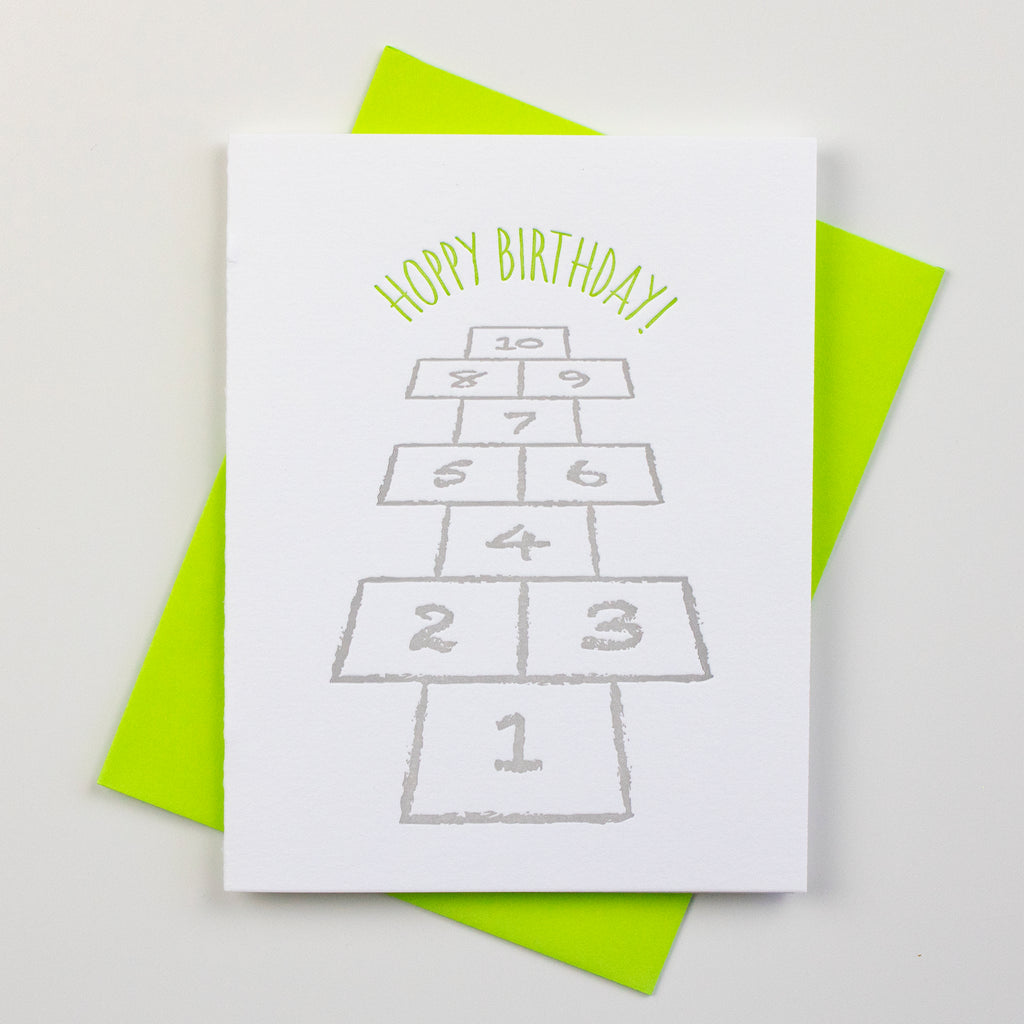 Milestone Birthday (1-10) Card