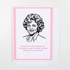 Golden Girls Rose Birthday Card