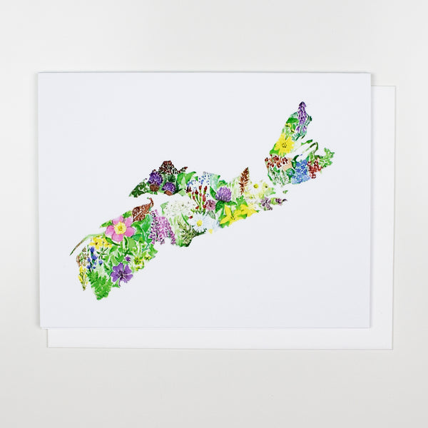 Nova Scotia Wildflowers Card