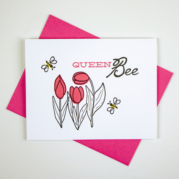 Queen Bee Card