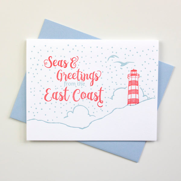 Seas & Greetings Christmas Card