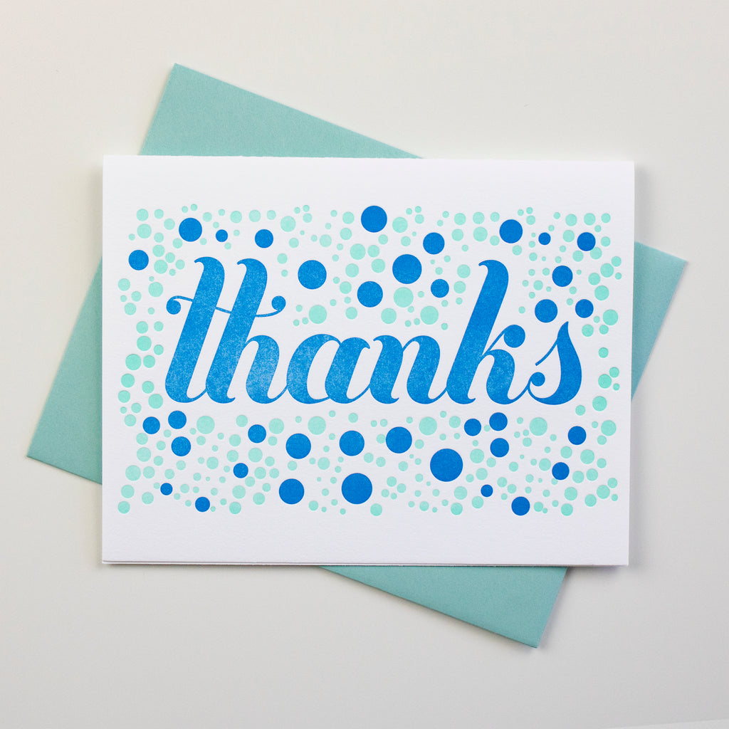 Thanks Dots Card