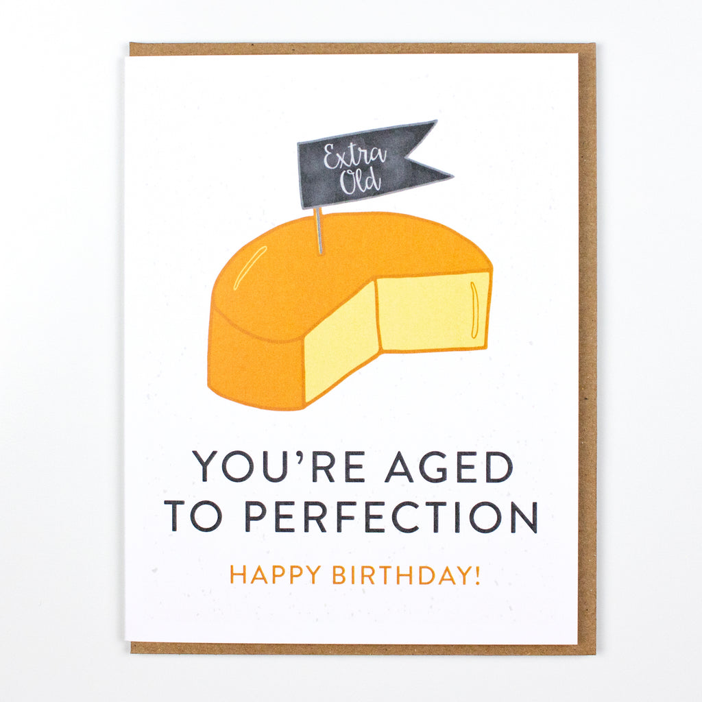 Aged to Perfection Birthday Card