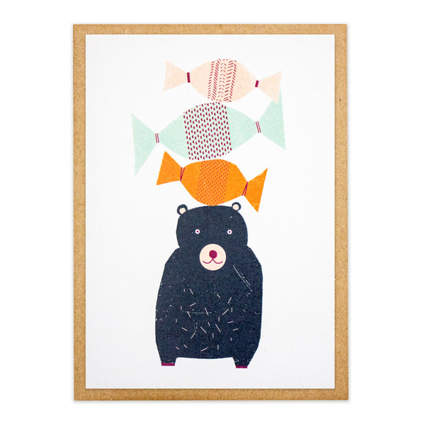 Kautzi Sweetie Bear Card