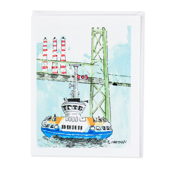 Dartmouth Ferry Bard Card