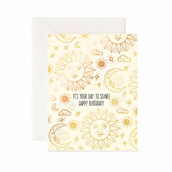Day To Shine Birthday Card