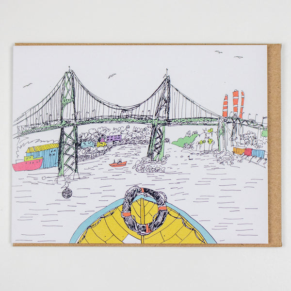 Halifax-Dartmouth Bridge Card