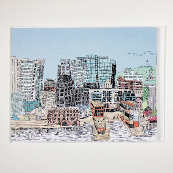 Halifax Skyline Card