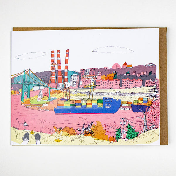 Pink Harbour Card