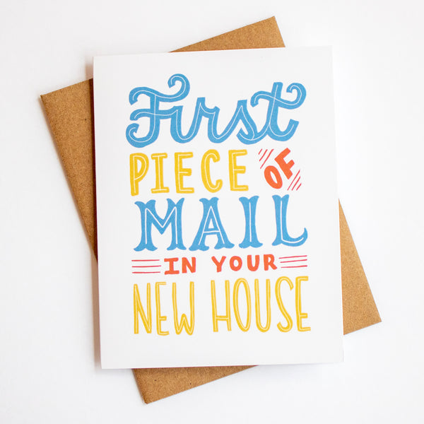 New House Mail Card