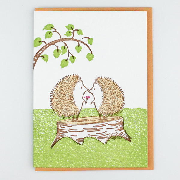 Hedgehog Love Card