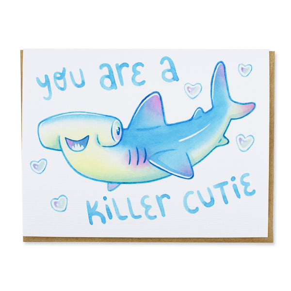 Killer Cutie Shark Card