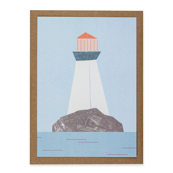 Kautzi Lighthouse Card