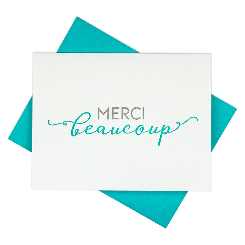 French Thank You Card