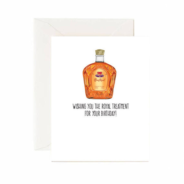 Royal Treatment Birthday Card